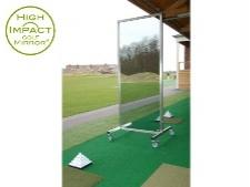 Mirrors for driving range