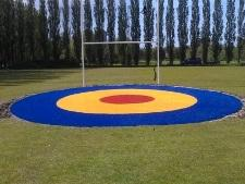 Artificial turf targets