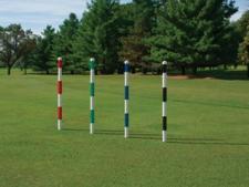 Range marking pole