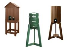 Open base & tripod water stations