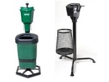 Tee consoles with washer & litter caddie or mate