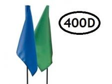 Tube-lock plain nylon flags heavy duty (sets)