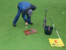 Hole maintenance