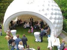 Golf ball reception (rental)