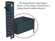 Elevator hopper LARGE<br>storage capacity ± 6.000 balls