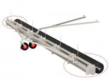 Range Maxx line collector with<br>mechanical dump extension set 4 -> 6