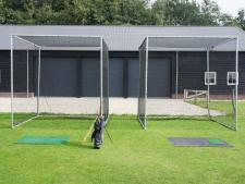 Practice cage OUTDOOR complete<br>small size: 300 x 300 x 300 cm