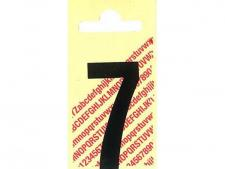 Decal single number BLACK for a.o.<br>Cast alu or Pers.dimple markers
