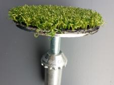 Cup shutter for artificial greens<br>