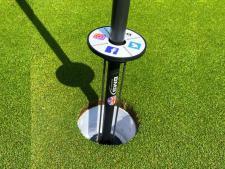 Golf Ball Lifter - Javelin / Tournament<br>Self Assemble - (Lift with Putter) decal