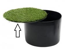 Footgolf cover only with grass<br>for BASIC model cup