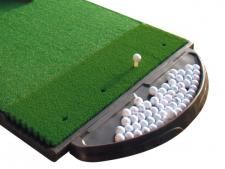 Ball tray 'bat-wing' Fiberbuilt <br>(capacity approximately 150 balls)