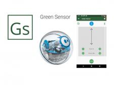 GreenSensor greens speed meter<br>app complete with robot