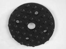 Rubber end disc for Range Maxx line<br>collectors (used to fill the space)