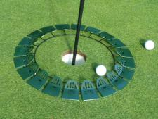 Quiccup® large 15 inch - green<br>www.Quiccup.com | Big Holes Golf