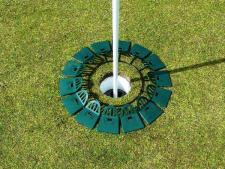 Quiccup® small 8 inch - green<br>www.Quiccup.com | Big Holes Golf