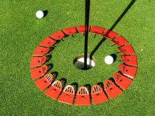Quiccup® large 15 inch - red<br>www.Quiccup.com | Big Holes Golf