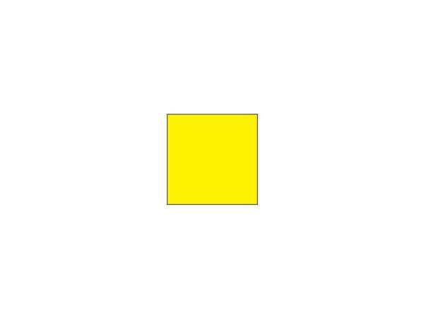 Placement flags Ø 1.3 cm<br>Plain yellow (set of 9 pcs)