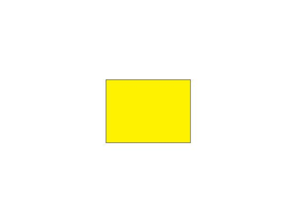 Placement flags Ø 1.9 cm <br>Plain yellow (set of 9 pcs)