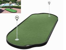 Tour Links putting green<br>10-panel 121 x 305 cm