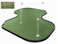 Tour Links putting green<br>37-panel 430 x 430cm