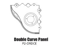 Tour Links panel radius<br>outside double curve edge